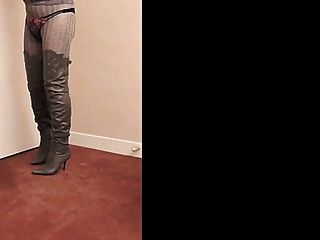 nadine cd thighboots, High Heels und Dessous
