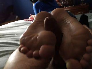 langsam, aber stetig foot