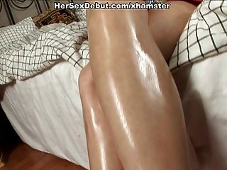 sehr harten Sex-Spiele für Pussy und Esel von Amateur Babe