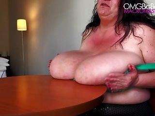 sabrina meloni 2014 Debüt - Riesen Boob wackeln