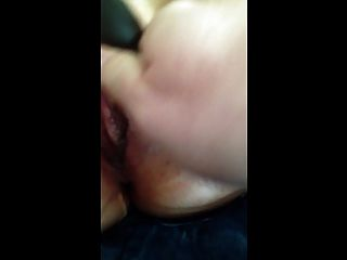 Frau gefesselt und Cumming!