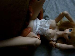 blonde niedlichen Anime dollfie Onahole Puppe ficken