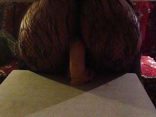 big ass und großen Dildo