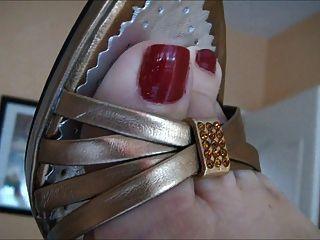 sexy reife Füße 2