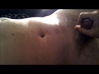eine große Last von Sperma aus meinem Freund Rucken