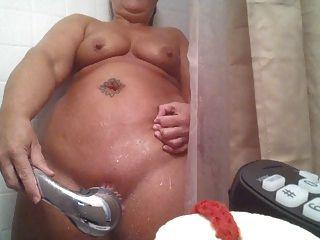 Masturbation in der Dusche
