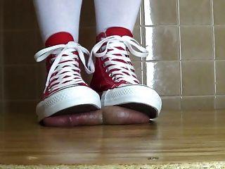cum unter meinem Umkehrung wieder! und Socken .... und barfuss