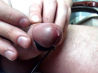 meinen Schwanz in Schock - 15. E-stim. anal spielen. Prostata Orgasmus