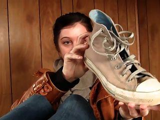 verschwitzten Socken, Schuhe - Füße