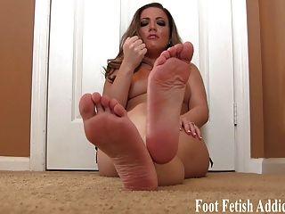 Schlaganfall es für weiche Füße und Zehen joi
