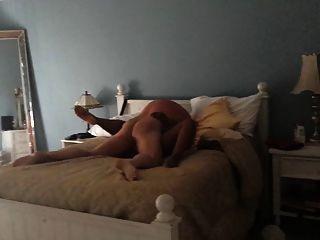 Frau gefickt in unserem Bett