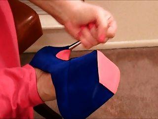Kreis Ruck auf ihre Füße