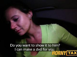 hornytaxi enza fickt mich vor der Kamera zu ihrem Ex zu geben