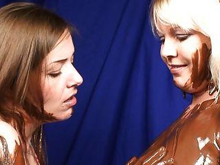 Schokolade küssen babes