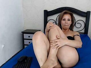 kolumbianisch Milf sexy Sohlen