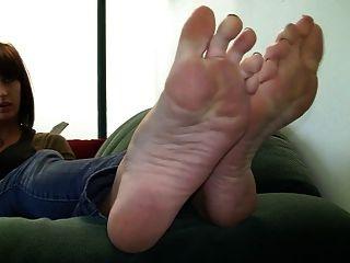 Fuß necken 6