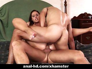 geil anal Babe lauren phoenix bekommt Double Penetration