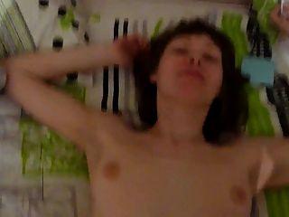 sexy russische Frau Hahn saugen