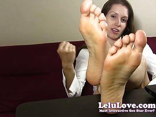 Lelu Liebe-Sekretär Sohlen Fußfetisch joe
