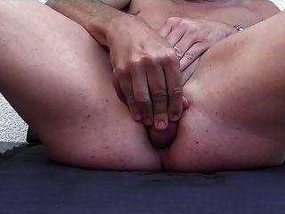 mein Schwanz in meinen Arsch