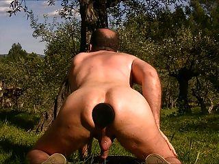 Doggy anal Fisting und große butt