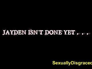 Sexsklavin Jayden rae kehrt ihre Herren heiße Ladung zu bekommen