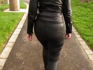 Leder eva in 5 meine neue Lederleggings für einen Spaziergang