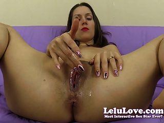 Lelu Liebe-nass joe Countdown Pussy fingern