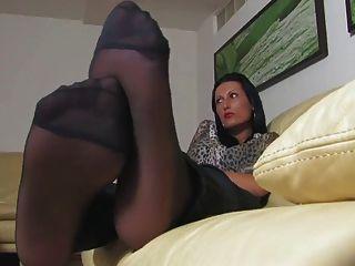 sexy Füße und Fetisch ignorieren