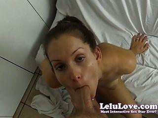 Lelu Liebe-Dusche Voyeur gefangen und gefickt