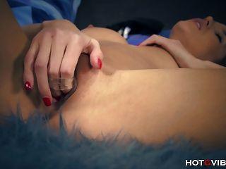 petite Super-Modell Orgasmen hart