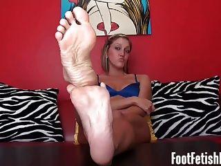 Ruck es meinen sexy Ebenholz Füße