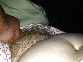 ihre weiche haarige Muschi & soft tit & Nippel Aufdeckung