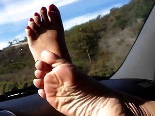 Pedal schöne Füße meiner asiatischen