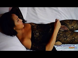 hot asian shemale pamela in Dessous