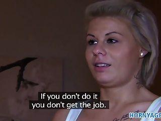 hornyagent Partner in Porno Trick sie in ficken blonde