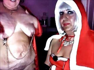 Herrin Weihnachten und ihre sub Schlampe katrina pt 3