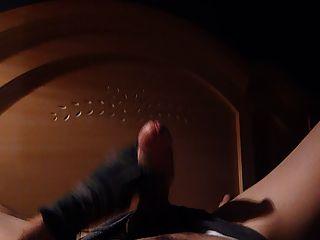 Socken Masturbation und Schnüffeln Ballerina hot cum