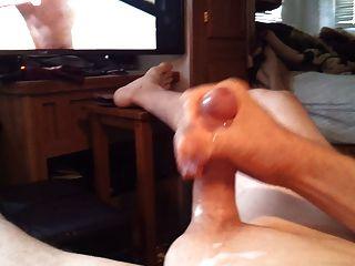 Cumming für einen Transvestiten