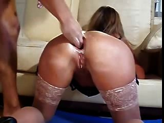 anal Fisting groß klaffen