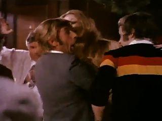 Retro-Streifen in öffentlichen bar