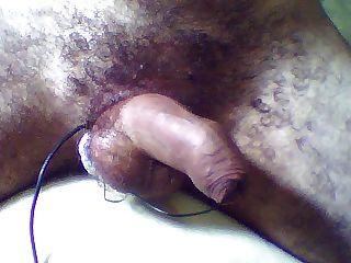 Elektro Penis cum - nicht eingezogenen Vorhaut