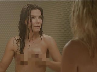Sandra Bullock und Chelsea Handler in der Dusche