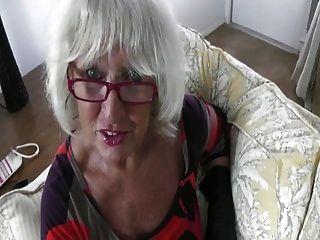 hot sexy ältere Puma hj in Leder Handschuhe- pov