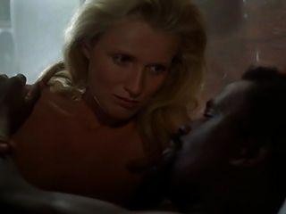 blonde weiße Frau mit schwarzen Mann - Softcore zwischen verschiedenen Rassen