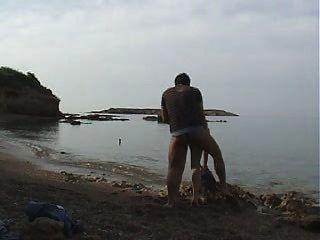 meine Ex und ich öffentlichen Strand ficken