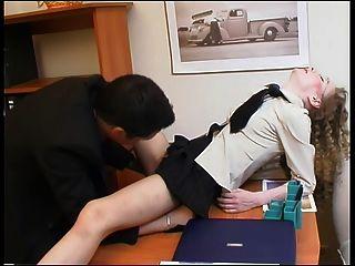 Chef und sein Sekretär