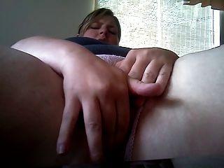 bbw hämmern ihre Muschi und Arsch