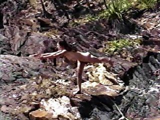 nackt Sport - Yoga natürlich nackt