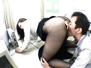 asiatischen Strumpfhosen Anbetung Sex